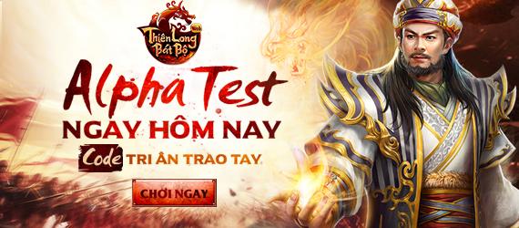 Thiên Long Bát Bộ đã ấn định khai mở Alpha Test cho các game thủ vào trải  nghiệm lúc 10h sáng ngày 16/10 trên cổng 360Game.vn