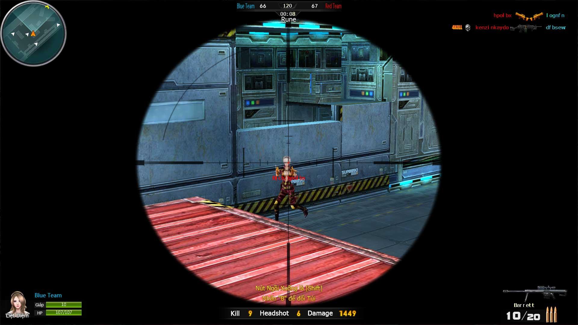 Bên cạnh các chế độ chơi thông thường như bắn Đấu Đội, Đặt Bom, Zombie...  Xạ Thủ còn giới thiệu đến người chơi chế độ chơi Robot đầy mới lạ và kịch  ...